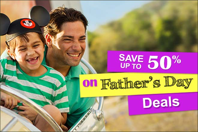 Explore and save on Father's Day specials at TicketsatWork.com for a gift dad will love!