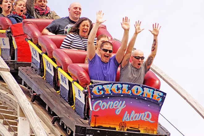 The Coney Island Cyclone Rollercoaster is celebrating 89 years of good times.