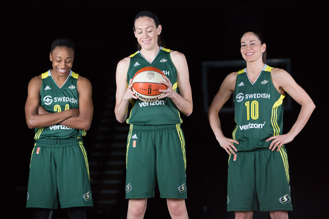The two-time WNBA Champions Seattle Storm delivers great basketball