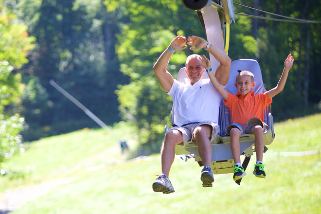 Loon Mountain has plenty of adventures the whole family can enjoy