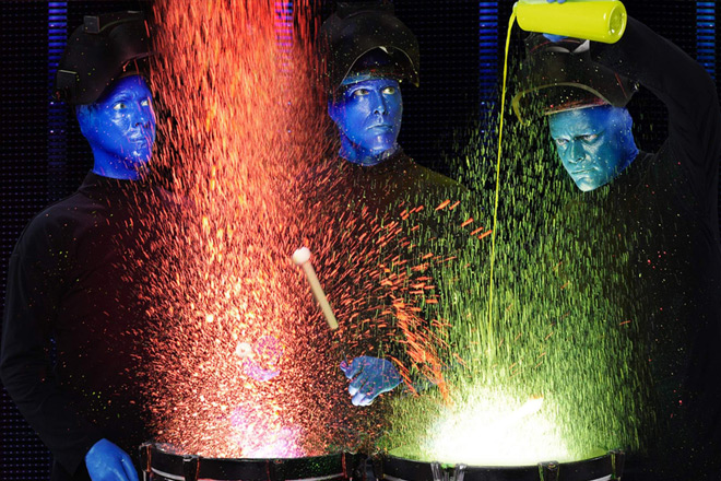 Blue Man Group is bringing its visually stunning performance to Chicago