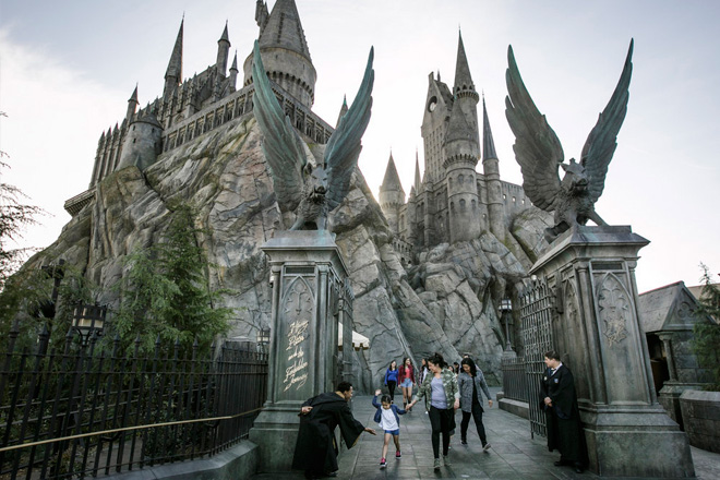 Experience Harry Potter and the Forbidden Journey in hyper-realistic 3D-HD