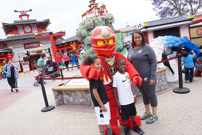 Experience NINJAGO ® at LEGOLAND California