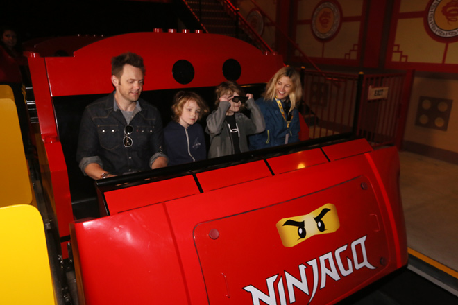 Take a ride on the all-new NINJAGO® The Ride