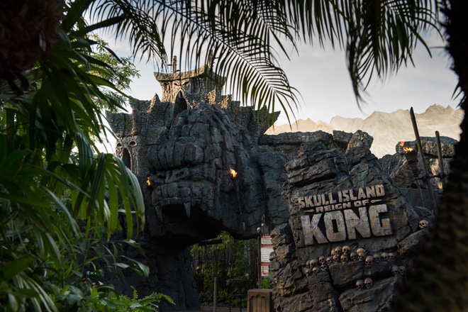 Skull Island Reign of Kong is now open at Universal Orlando