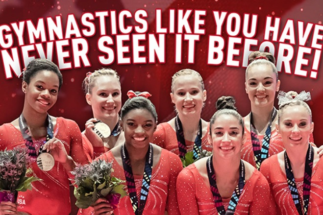 Catch the Kellogg's Tour of Gymnastics Champions with discount tickets from TicketsatWork.com!