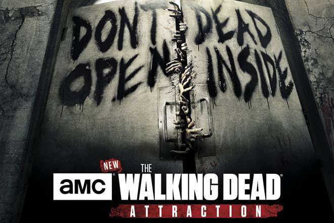 "Can you survive in the fully immersive ""The Walking Dead"" attraction?"