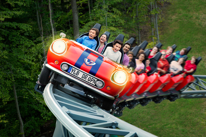 There's plenty of fun in Busch Gardens Williamsburg including the Verbolten!