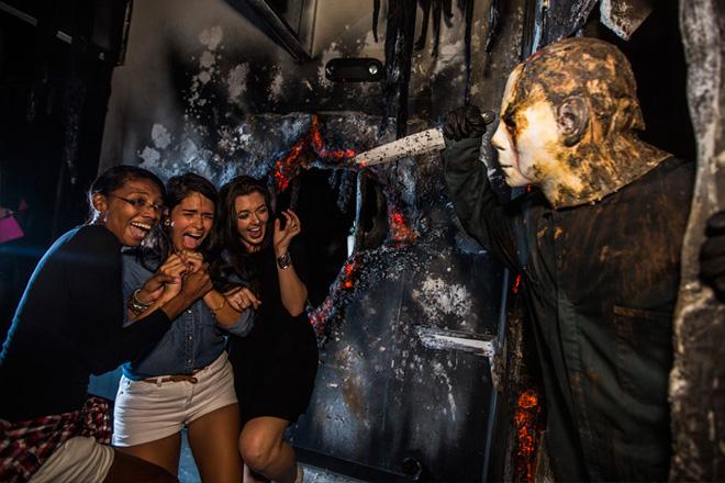Horror Classics like Halloween II are on full display in Halloween Horror Nights Orlando