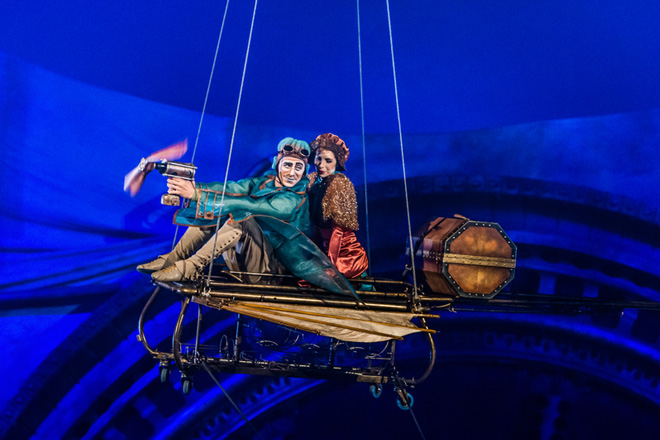 Kurios will amaze with aerial acts and stunning productions Cirque is known for