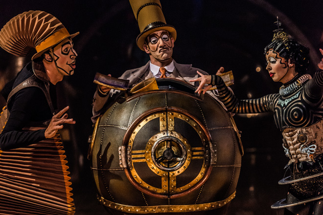 Kurios: Cabinet of Curiosities will perform under the Big Top at Randall's Island Park