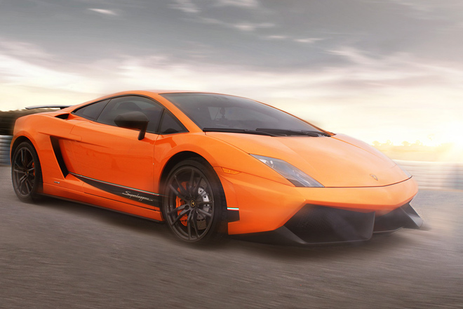 Get behind the wheel of a Lamborghini at Fittipaldi Exotic Driving in Austin