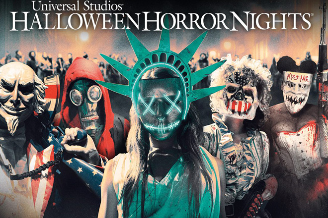 Scare zones at Halloween Horror Nights Hollywood will include The Purge