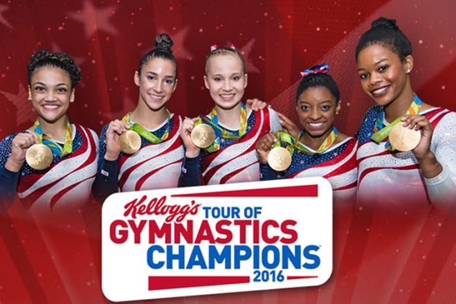 Brooklyn is packed with fun sporting events this November including Kellogg's Tour of Gymnastics Champions and TicketsatWork.com has your tickets for less!