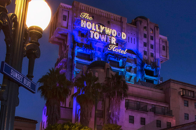 Experience The Tower of Terror one last time at the Disneyland Resort