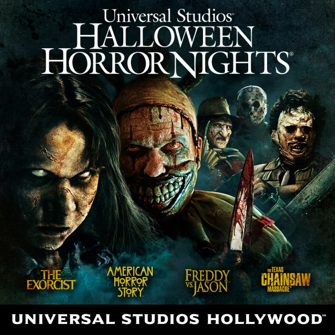 Experience Horror at Universal Hollywood Halloween Horror Nights
