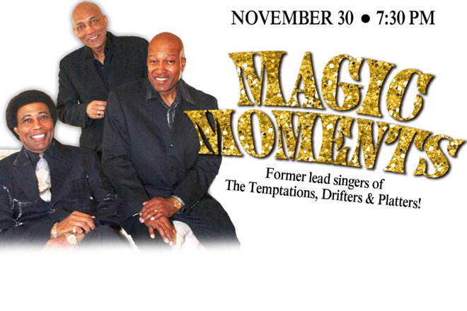 Magic Moments brings a classic line-up of musical greats to Lakeland Florida