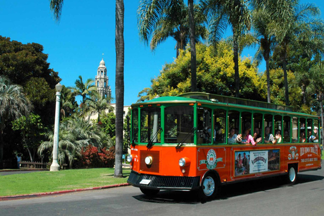 Enjoy San Diego Old Town Trolley where kids ride free through October