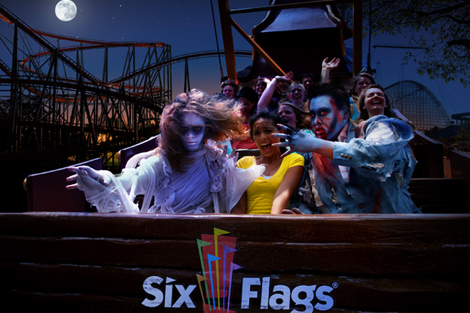 Enjoy Fright Fest Nationwide with Savings on Your Six Flags Tickets
