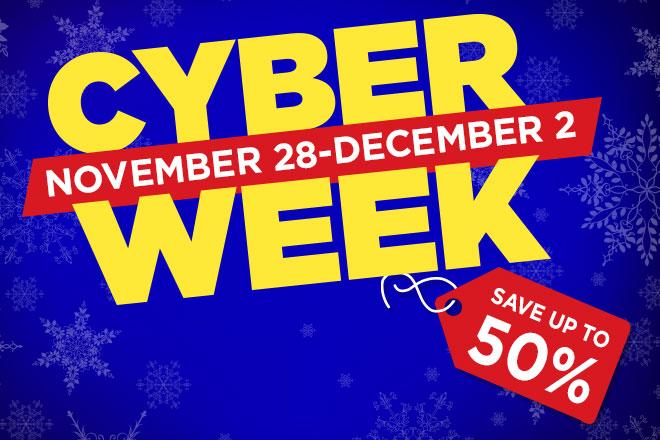 TicketsatWork.com has your Cyber Week Deals Nationwide!
