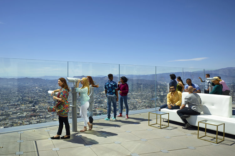Experience 360 Degree Views Of Los Angeles At The All New Oue