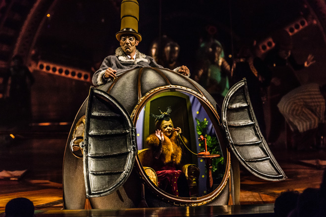 Kurios is coming to Miami, Dallas and Houston, save with Tickets at Work!