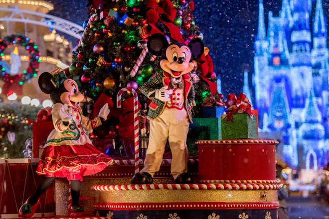 Holiday events light up Walt Disney World this season. Be there with Disney tickets from TicketsatWork.com!