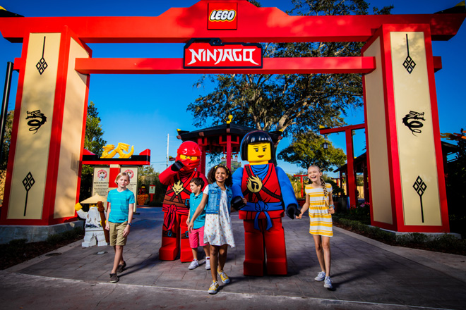 LEGOLAND Ninjago World now open