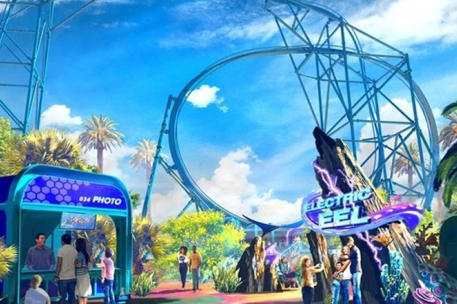 Electric Eel coming to SeaWorld San Diego in 2018. In the meantime, experience the park's many thrills with tickets from TicketsatWork.com!