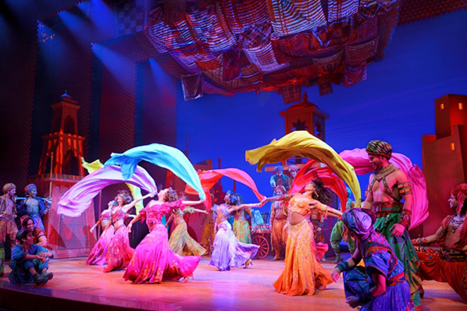 Experience a whole new world when Aladdin comes to Chicago!