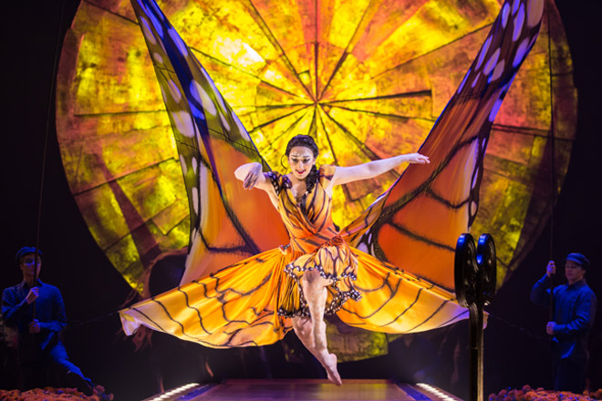 See Luzia by Cirque du Soleil in Seattle with discount tickets from TicketsatWork.com!