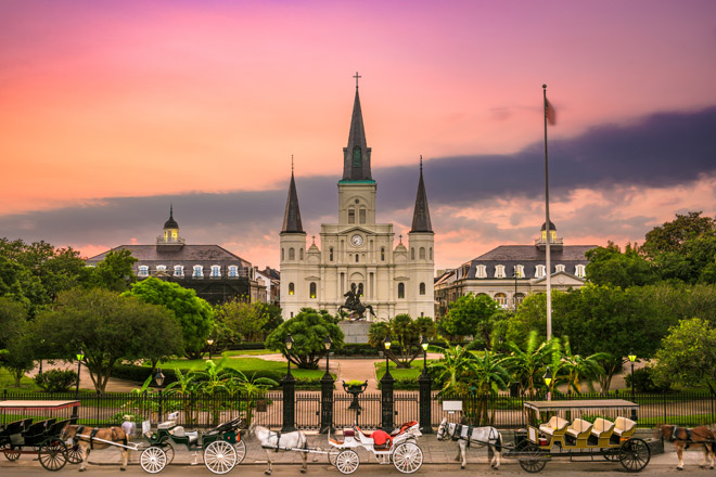 Jackson Square in New Orleans (Photo: iStock/Getty)