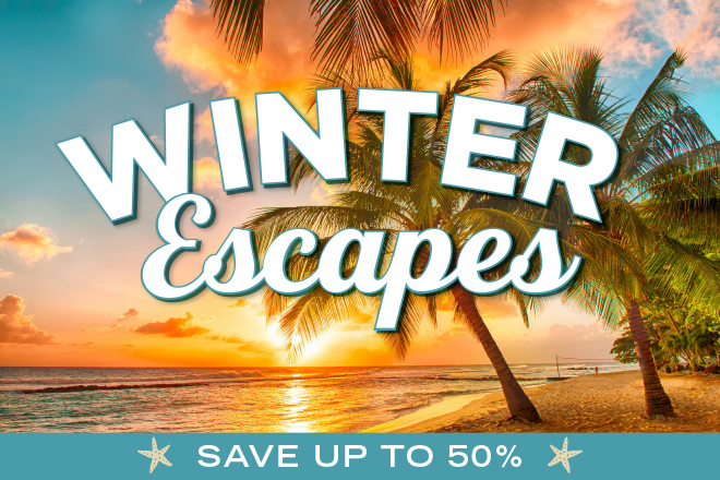 Winter Escapes - Save Up to 50% at TicketsatWork.com