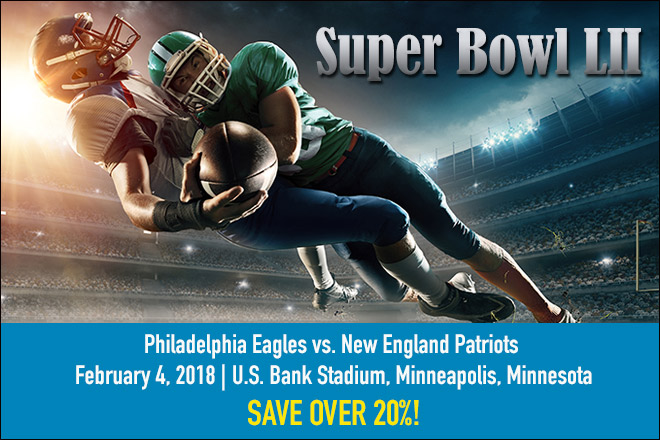 Super Bowl is Here! 4 Awesome TicketsatWork Deals