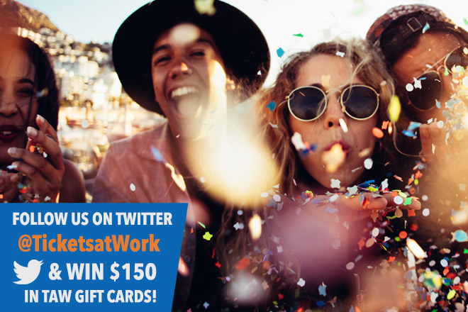 New Year, New Savings with TicketsatWork