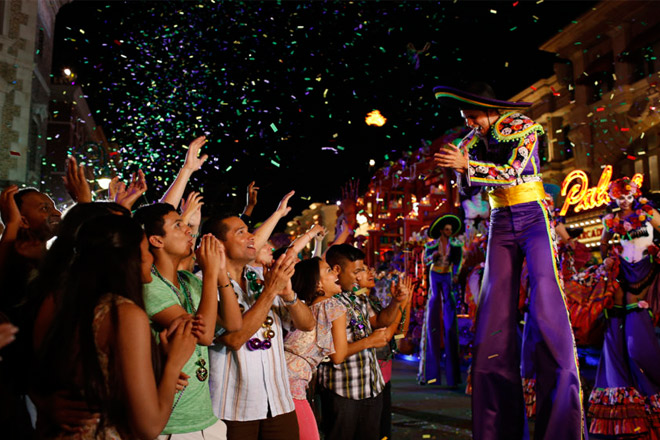 Celebrate Mardi Gras at Universal Orlando