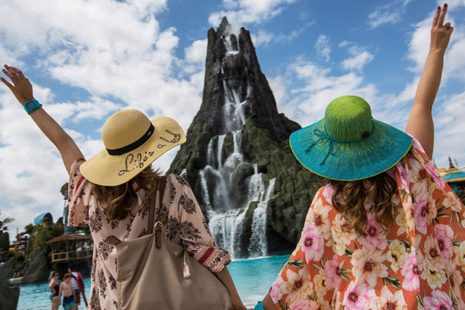 Spring at Universal's Volcano Bay (Photo by Universal Orlando)