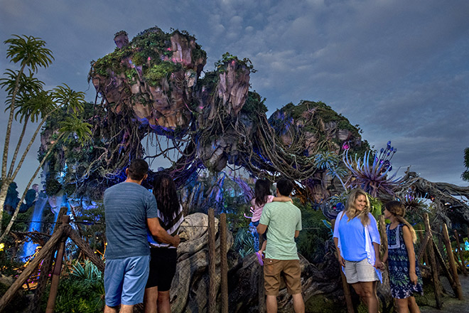 Celebrate Earth Day at Pandora at Disney's Animal Kingdom