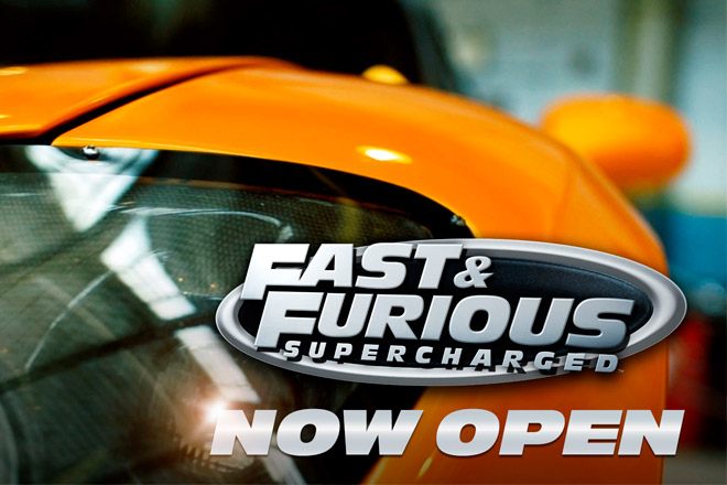 Universal Orlando's Fast & Furious-Supercharged is Now Open (Photo: Universal Orlando Resort)