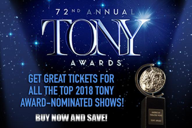 Tony Awards for Top Award-Nominated Shows (Photo: Tony Awards Productions)