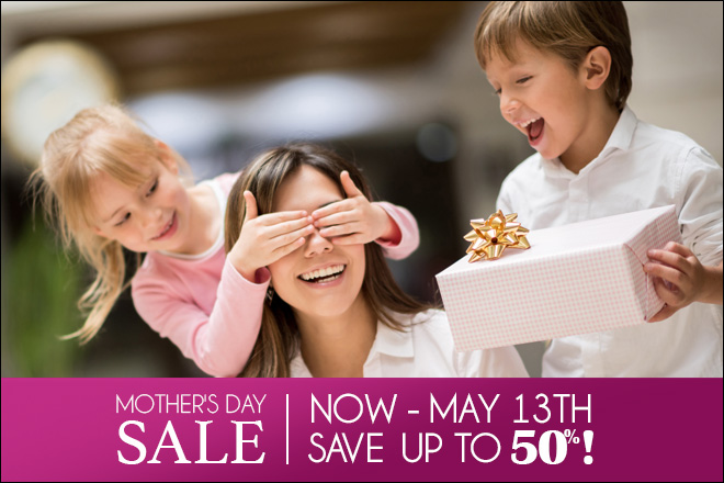 Mother's Day Sale - Save Up to 50% at TicketsatWork.com