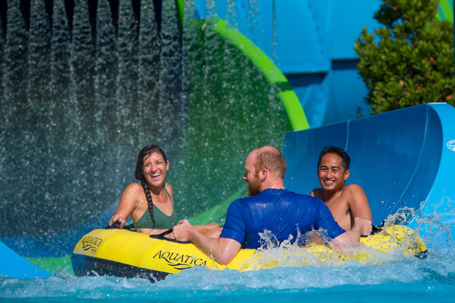 Ray Rush at Aquatica Orlando