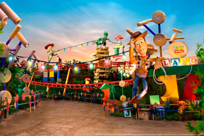 Toy Story Land opening June 30th 2018 at Disney's Hollywood Studios (Photo: Disney Parks Blog)