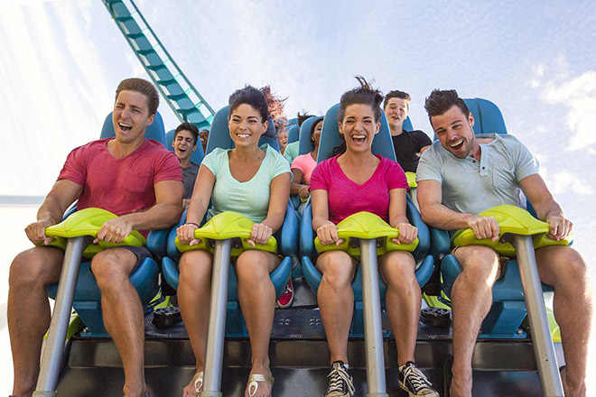 Carowinds delivers the thrills! Save on tickets at TicketsatWork.com.
