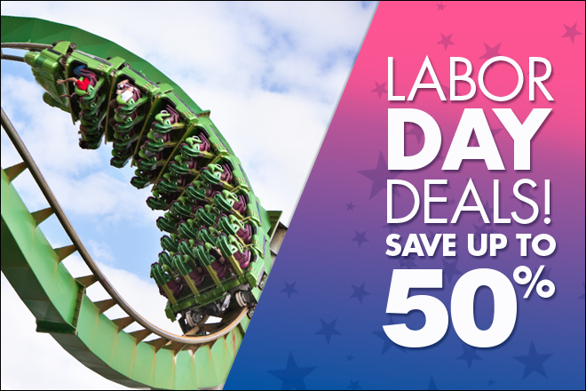 Save up to 50% Labor Day Deals at TicketsatWork.com