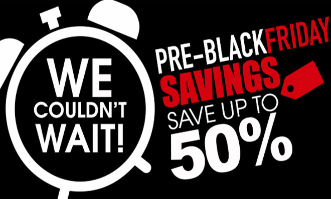 Pre-Black Friday Savings 2018 at TicketsatWork.com