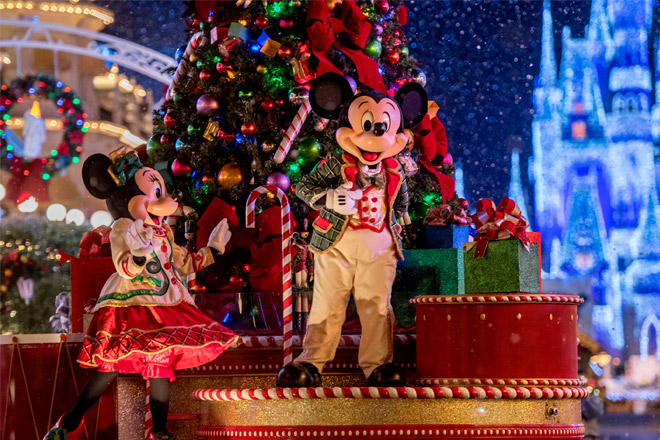 Holidays at Walt Disney World