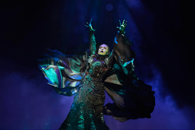 Jessica Vosk as Elphaba in 'Wicked' (Photo: Joan Marcus)