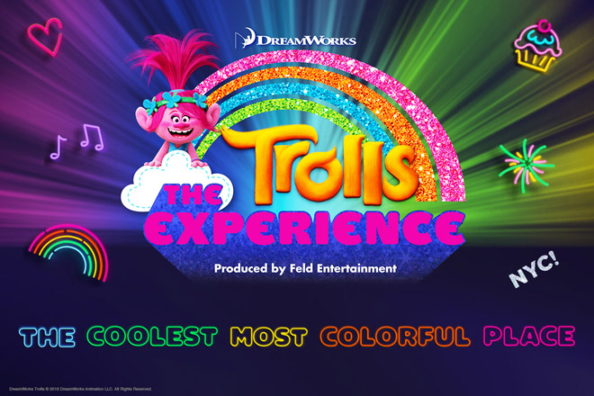Trolls The Experience Tickets at TicketsatWork.com