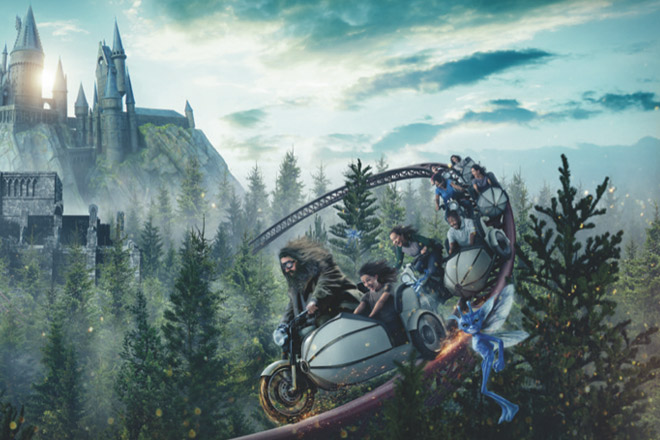 Harry Potter Coaster at Universal Orlando
